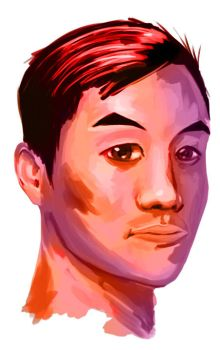 Andrew Huang (value study 5) by NetherDweller