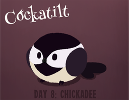 Birdstarter Day 8: Chickadee by Furrama