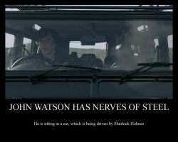 Sherlock - John's Nerves of Steel by nfj123