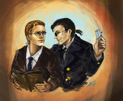 Good Omens- Concert by Moonlight-Mage-Shiro