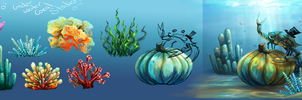 Underwater Coral Studies by charfade