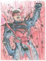 Earth 2 #18 Superman Reveal Waters by magnumpeanut