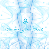 Dreams Flare Brushes 2 by Pixellover