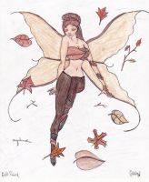 Fall Fairy by GabbyFae