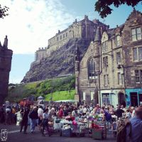 Edinburgh Castle by bollatay