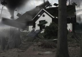 Devastating tornado by Nation17
