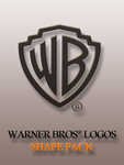 Warner Bros Logos Shape Pack by yaxxe