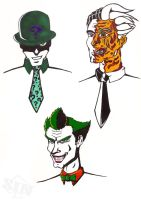Faces Of Gotham by Kagemane123