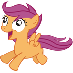 Excited Scootaloo by Adenreagen