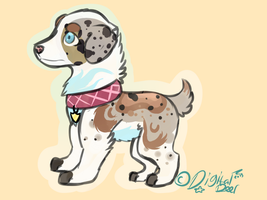 Australian Shepard Auction by Apriifox