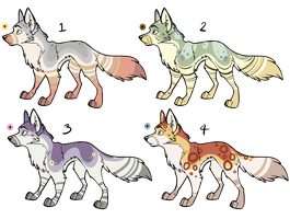 Assorted Canine Designs Batch 13 (CLOSED) by Noctilida