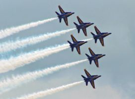 The Navy's Blue Angels 5 by Dracoart