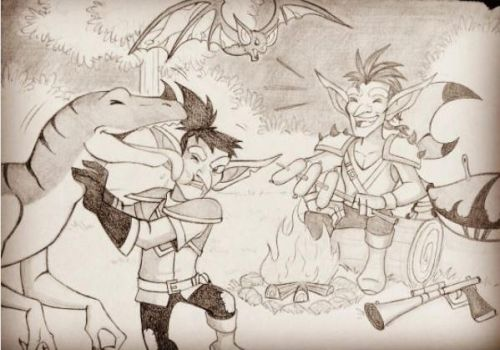 Exploring Azeroth by ice-and-fire-88