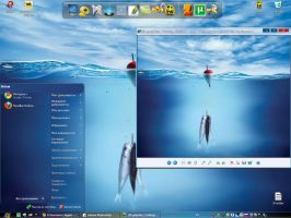 "Theme "" Water "" for XP by tochpcru"
