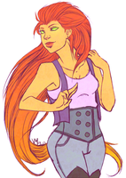 Starfire :2: by Requiem-of-a-Dreamer