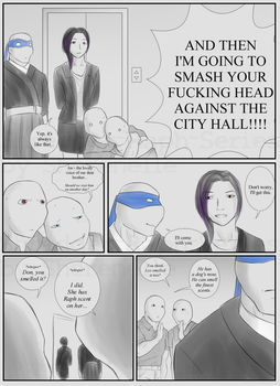 Shredder-Raph-Series: Chapter 2 Page 4 by Sherenelle