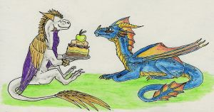 Happy B-Day, Saurr! by Tir-Goldeness