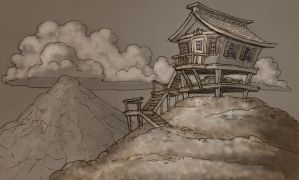 House on the Hill by tincap