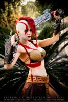She Kratos by lilialemoine