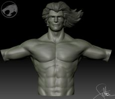 Lion-O Zbrush WIP Sculpt by FoxHound1984