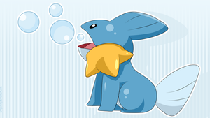 Mudkip Wallpaper by SeviYummy