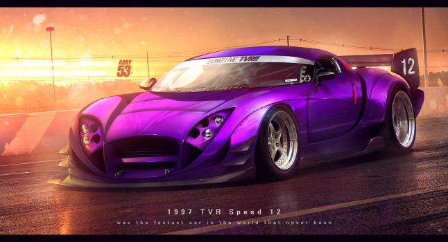 1997 TVR Speed 12 by Adry53