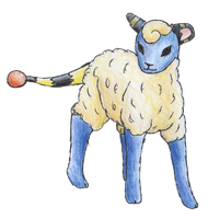 Mareep by bubblewrap-pancakes
