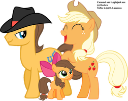 Applejack's Family by dlazerous