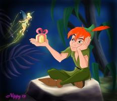 Peter Pan - My Valentine by Nippy13