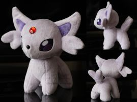 Espeon  Pokeplush by MagnaStorm
