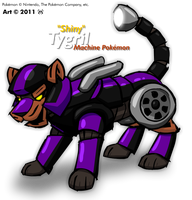 Shiny Tygril -Fake Pokemon- by MalamiteLtd