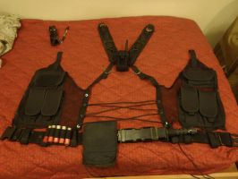 Sam Fisher's Chaos Theory vest. by Scarlet-Impaler
