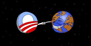 World Reacts to Obama Victory by Sapoman