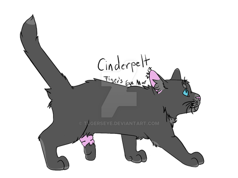 Day 12 of WC Challenge: Cinderpelt by Tigerpool