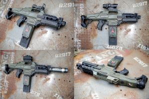 alien colonial marines rifle by billy2917