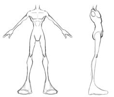 Model Sheet - stylized male by 3dmodeling