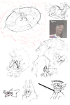Bunch Of Sketchity Sketches by MrGremble
