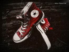 Red converse together by thomt13