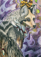ACEO/ATC: Ritual by Samantha-dragon