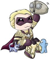 Ozymandias Chibi by RedPawDesigns
