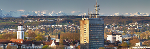 First light in Konstanz - panoramic version by acoresjo88