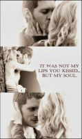 Klaus and Caroline - You kissed my soul by SandraKlaroline