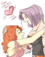 Happy VDay Sally by Swamnanthas