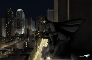 gotham by P-PASECAS