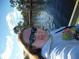 me being awesome on the boat by angelbaby88
