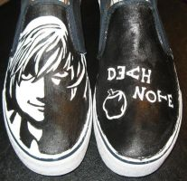death note shoes by libharp