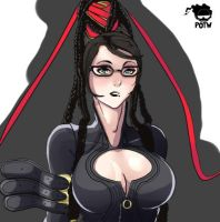 bayonetta by Trigon11
