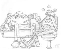 Dr. Eggman does Therapy by Shgual