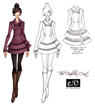 The Dahlia Coat by ember-snow
