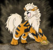#059 Arcanine by CoolWhipSD